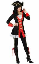 Costume CAPITAINE PIRATE Pantalon XS/S 36/38 Déguisement Adulte Femme