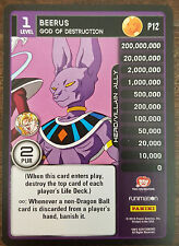 2016 SDCC COMIC CON PANINI FUNIMATION DRAGON BALL Z BEERUS PROMO CARD # P 12