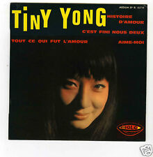 45 RPM EP TINY YOUNG HISTOIRE D'AMOUR (BOOK OF LOVE)