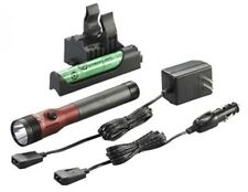 Streamlight 75494 Red DS Stinger LED HL AC/DC with Piggyback Charger 640 Lum