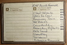 Nine Pound Hammer -1987 Demo cassette tape - Rare Cowpunk - Kentucky hard rock