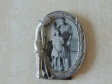 "Women's Golf Theme Picture Frame Cast Pewter 5 1/2"" x 4""  ~"