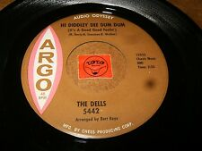 THE DELLS - HI DIDDLEY DEE DUM DUM - IF IT AIN'T ONE  / LISTEN - DOO WOP POPCORN