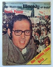 The Illustrated Weekly of India 20th Feb 1977 Youth Power SANJAY GANDHI