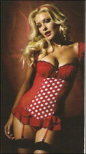 Ann Summers Roulette Suspender Cami & Thong Sz 10-12 *In Stock*