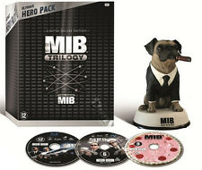 Men in Black Trilogy NEW Cult Blu-Ray 3-Disc Set & Agent Frank Figure Will Smith