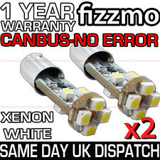 2x ERROR FREE CANBUS 8 LED 233 T4W XENON SIDELIGHT BULB