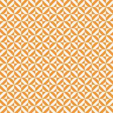 Fun & Games Geometric Orange by Lori Whitlock for Riley Blake, 1/2 yard