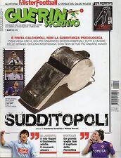 rivista GUERIN SPORTIVO ANNO 2009 NUMERO 4 SUDDITOPOLI + INSERTO