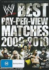 WWE Best Pay Per View Matches 2009 - 2010 New Region 4 Sealed NTSC