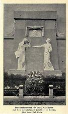 Grabmal Prof.Max Koner Jerusalemer Friedhof Berlin Bilddokument 1902