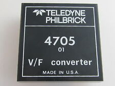 Teledyne Philbrick 4705-01 High Performance 1MHz Voltage to Frequency Converter