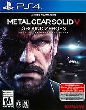 Metal Gear Solid V: Ground Zeroes (Sony PlayStation 4, 2014)