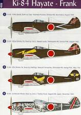 Eduard Decals Ki-84 Hayata Frank 107th 182nd 57th 1st 1945 - 1:48 Modell-Bausatz