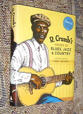 R. Crumb's Heroes Blues Jazz Country,MISSING CD,VG/VG,HB,2006,First   N