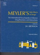 Meyler's Side Effects of Drugs 16th Ed Volume 7 ONLY T-Z 1-926 (E1-60)