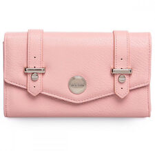New Kenneth Cole- Large Envelope Flap Clutch Wallet- Pink