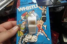 Vintage Larami Corp. Official Referee Whistle New