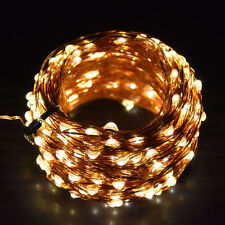 50M 500Leds Copper Wire Christmas String Fairy Lights 24keys Remote Control