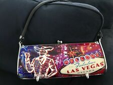 RARE LITTLEARTH WELCOME TO FABULOUS LAS VEGAS Swarovski Purse
