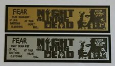 Night of the Living Dead Nameplate for signed movie poster photo