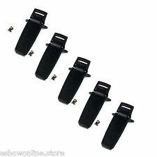5pcs Original Belt Clip for TYT MD-380 Tytera MD-380 Retevis RT3 2-Way Radio HOT