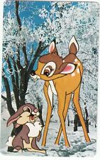 Playing Swap Cards  GENUINE 1 only single NINTENDO BAMBI 3/4 size card