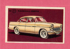 Vauxhall Cresta Vintage 1950s Car Collector Card from Sweden