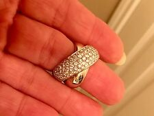 18k Gold Italian Designer  Raima Diamond Statement Ring 2 Carat