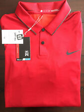 NIKE TIGER WOODS COLLECTION GOLF DRI-FIT POLO SHIRT LARGE MEN NEW $115 AUTHENTIC