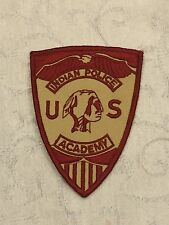 Defunct U.S. Police Academy Old Style Tribal Patch