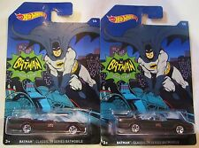 1:64 Scale Hot Wheels Diecast Batman Car Batmobile Lot Classic TV Series 1/6