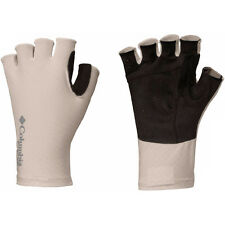Columbia PFG Freezer Zero Fingerless Omni-Wick Cooling Gloves - S/M - Fossil