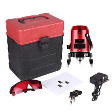 Professional 5 Line 6 Point Automatic Self Leveling 4V1H Laser Level Measure
