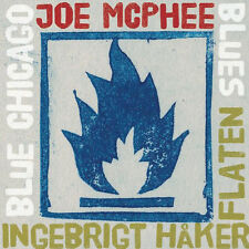 CD JOE McPHEE INGEBRIGT HAKER FLATEN Blue Chicago Blues