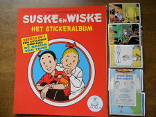 PANINI  EMPTY ALBUM + ALL 168 STICKERS OF SUSKE & WISKE