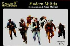 Caesar Miniatures1/72 Modern Militia Somalian & Asian Soldiers Set 63