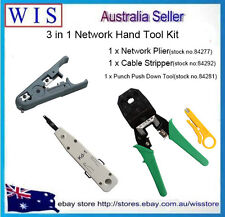 3 in 1 Network Hand Tool Kit for Cutting Strippping and Crimping