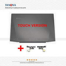 Top Lcd Lid Rear Back Cover for Lenovo Y50-70 AM14R000300 + Hinges touch Version