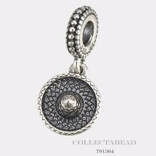 Authentic Pandora Sterling Silver Hanging Sombrero Bead 791364