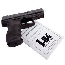 HECKLER & KOCH WEAPON RECORD BOOK PISTOL MANUAL HK USP HK45 P30 MARK23 SP5K VP9