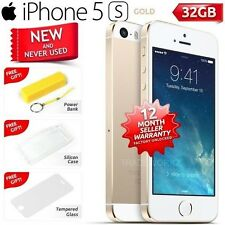New in Sealed Box Factory Unlocked APPLE iPhone 5S Gold 32GB 4G Smartphone