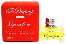 S.T. DUPONT SIGNATURE FOR MEN Eau De Toilette Mini Splash 0.17 Oz / 5 ml NEW !!!
