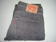Herren LEVI'S STRAUSS & CO. 501 Grau Jeans W32 L32 Gerades Bein