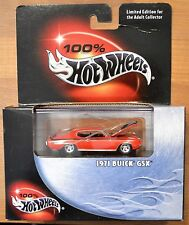 Hot Wheels 100% Black Box 1971 Buick GSX Red