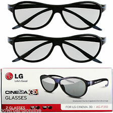 GENUINE LG 3D Glasses - EBX6166850 EBX61508301 - AG F310(2 Pack) Ships From Aust