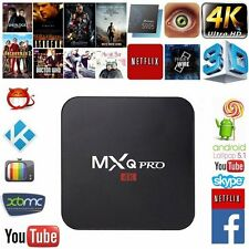 MXQ Pro Android TV Box S905 4K Digital TV Streaming Box Quad Core Android 5.1