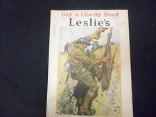 1918 APRIL 6 LESLIE'S WEEKLY MAGAZINE - LEND HIM A HAND - ST 2192