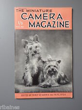R&L Vintage Mag, The Miniature Camera November 1951, Langham Ultralite /Darkroom