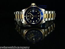 Invicta Men Original PRO DIVER SUBMARINER Coin Bezel Automatic Gd 2Tone SS Watch